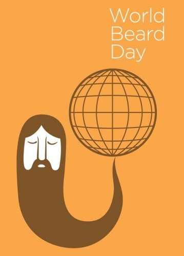 World Beard Day 2012 Poster