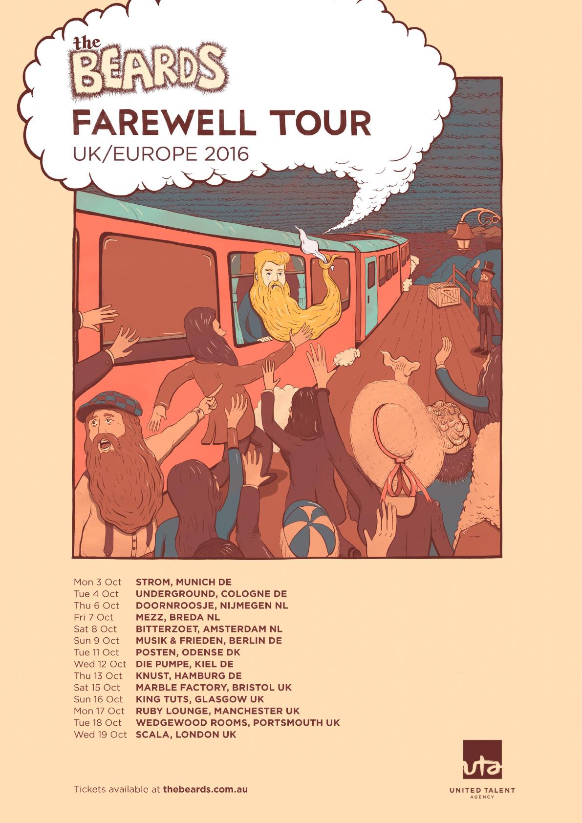 Beards Farewell Tour Europe